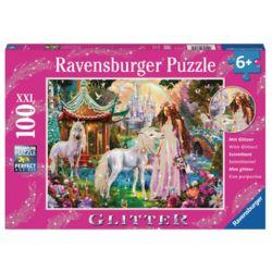 라벤스부르거 공주와유니콘 글리터 100피스 직소퍼즐