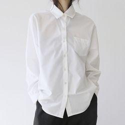 [top] 오버 베이직 셔츠