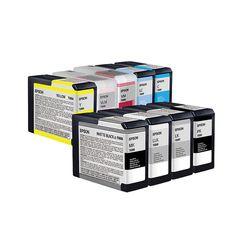 엡손 정품 잉크 세트 Stylus pro 3880용 9색 개별구매