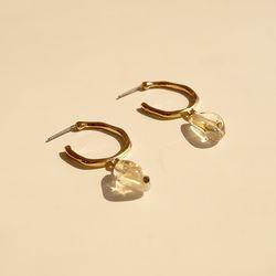 crystal stone rings 크리스탈 스톤 원석 링귀걸이