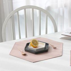 마리벨 방수 테이블매트(핑크)