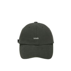 keek 워싱 캡 - 차콜그레이