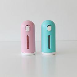펫크미 미니 슬라이드 물병 산책용 휴대용 물병 물통