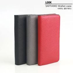 룩 아이폰11 (pro max) 사피아노 월렛 천연가죽 지갑 케이스