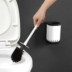 벽걸이 화장실 변기솔 욕실부착형