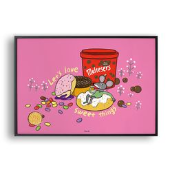 Lets love sweet things