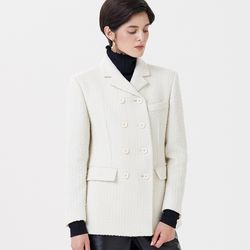 TWEED JACKET IVORY