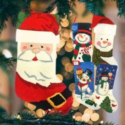트리장식품 큰 산타양말 양말주머니 선물주머니