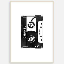 패브릭 거실 북유럽 인테리어 그림 액자 테이프 [A3]