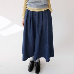 pintuck a line skirts