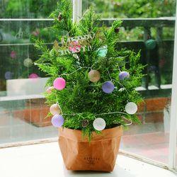 아비에스 전나무 크리스마스 스탠딩트리소-크리스마스소품