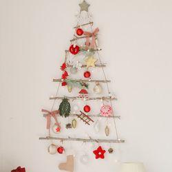 알데아 8단 LED앵두전구 향기나는 크리스마스 벽트리 장식