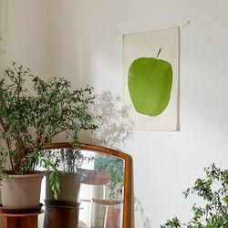 GREEN APPLE 인테리어 패브릭포스터 가리개커튼
