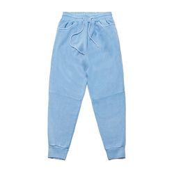 SCRAPE PIGMENT HEAVY SWEAT JOGGER PANTS BLUE