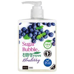 슈가버블 친환경 블루베리 주방세제 500g x4