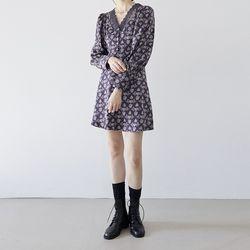 [dress] 실키 레이스 원피스