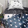 북유럽 패턴 밍크 토퍼 120x210cm