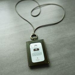 잠금링 사원증 IDCard Case. Lockable Ring 스내치올리브