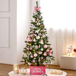 크리스마스 트리 풀셋트-포근핑크