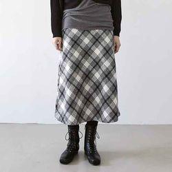 [skirt] 체크 세인트 스커트