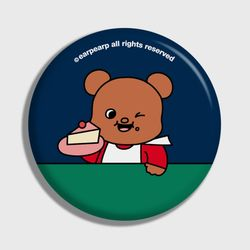 Picnic bear-navygreen(거울)
