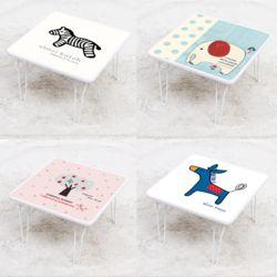 신지가토 하이그로시 400x400 밥상 공부상 접이식 테이블