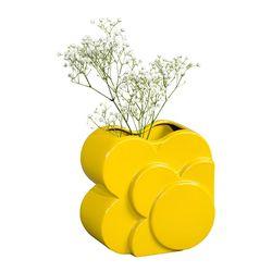 [올라카일리] 인테리어 화병 도자기 꽃병 옐로우