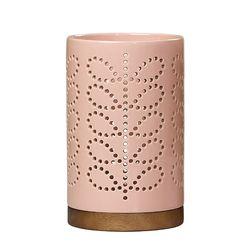 [올라카일리] 캔들 홀더 양초 케이스 라지 핑크