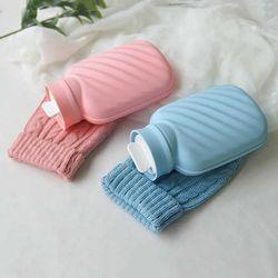 루나 실리콘 뜨개 보온보냉 물주머니 2color