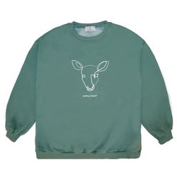 Line Deer MTM - Green ( :라인 디어 맨투맨)