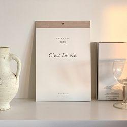 2020 Calendar Cest la vie PARIS