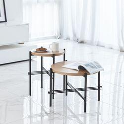 리버 소파 테이블 라지