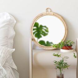 studio VINA 라탄 거울