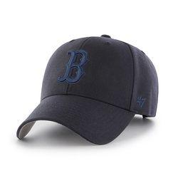 47브랜드 MLB모자 보스톤 레드삭스 네이비블루빅로고 스트럭처