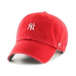 47브랜드 MLB모자 뉴욕 양키즈 레드 화이트미니로고(한정)