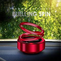 오토라 태양광 듀얼링 아로마 스핀 차량용 인테리어 방향제
