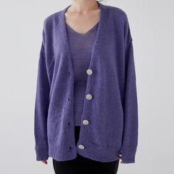 knit sleeveless cardigan set (3colors)