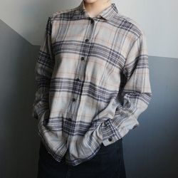 ton on ton check shirts (2colors)