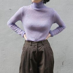 vivid color pola knit (5colors)