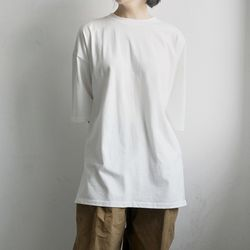layer maxi cotton tee (3colors)