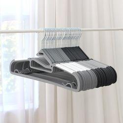 프리미엄회전고리논슬립옷걸이20개