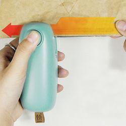 미니 비닐 밀봉기 접착기 실링기 컷팅기 일체형