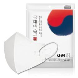 KF94 식약처 허가 국대 황사 미세먼지 마스크 10매