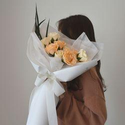 특대 비누장미 꽃다발