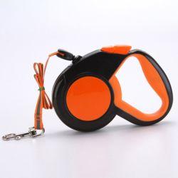 리플렉터 애견 자동 리드줄 오렌지(5M)