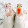 토끼랑당근이랑 입체 양말 BEIGE