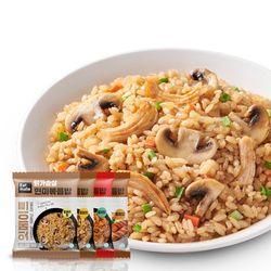 닭가슴살 현미볶음밥 혼합 200gx30팩(양송이10갈비10김치10)