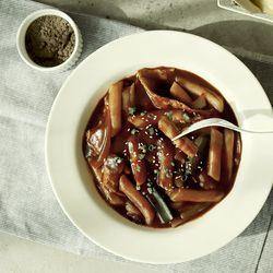 제이키친 야채 떡볶이 매운짜장 쌀떡(2인분)