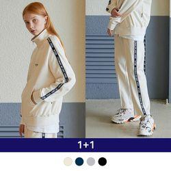 [1+1] Line Zipup + Side Line Pants