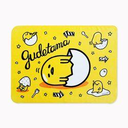 구데타마 에그팝 극세사 담요